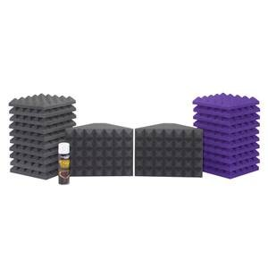 Universal Acoustics Saturn 1 Purple/Charcoal Room Kit