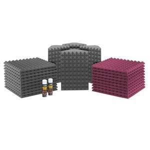 Universal Acoustics Saturn 3 Burgundy/Charcoal Room Kit