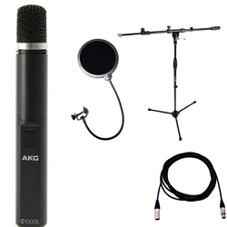 AKG C1000S Mk IV + Package (Stand/5m Lead/Pop Filter)