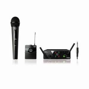 AKG WMS40 Mini Dual Mix Vocal/Instrument ISM2/3 CH70