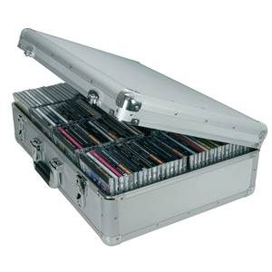 CD Flight Case X120 CDs