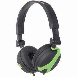 QTX QX40G Green Stereo Headphones