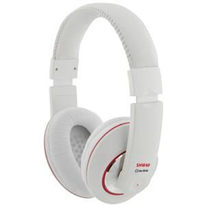 QTX SHW40 White Stereo Headphones