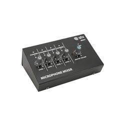 QTX 4-Channel Mini Mic Mixer