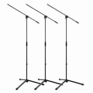K&M 25400 3-Pack Mic Boom Stands