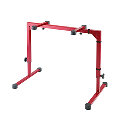 K&M 18810 Omega Keyboard Stand Ruby Red