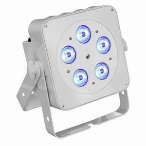 LEDJ Slimline 5Q5 RGBW (White)