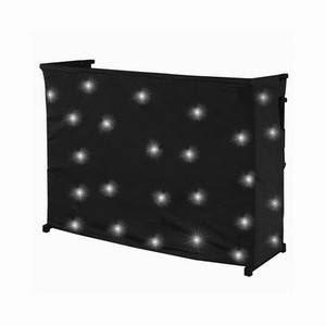 LEDJ White LED Table Starcloth