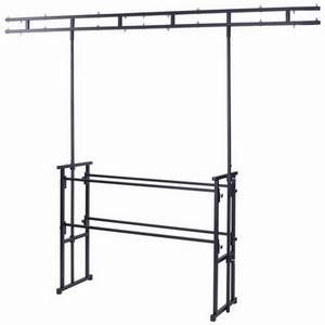 Rhino Twin Bar 4' Pro Disco Stand