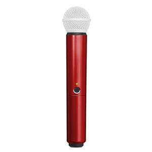Shure BLX SM58/Beta58A Handle Component Red