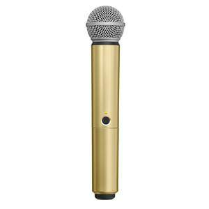 Shure BLX SM58/Beta58A Handle Component Gold