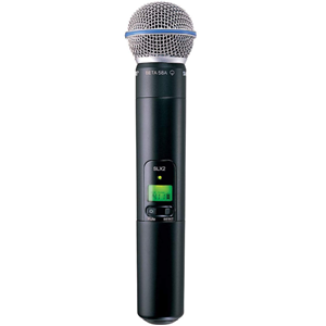 Shure SLX2/Beta58  Beta50 Mic with SLX2 transmitter