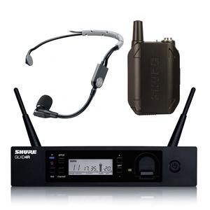 Shure GLXD14RUK/SM35-Z2 Rackmount Headset System