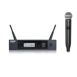 Shure GLXD24RUK/SM58-Z2 Rackmount Vocal System