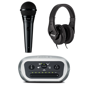 Shure PGA58-XLR Digital Recording Kit
