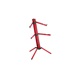 K&M 18860 Spider Pro Red Keyboard Stand