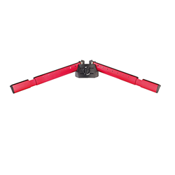 K&M 18865 Spider Pro Red Support arm set A