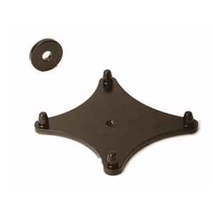K&M 19625-330-56 Stand Plate for 8x5x Iso-Pod