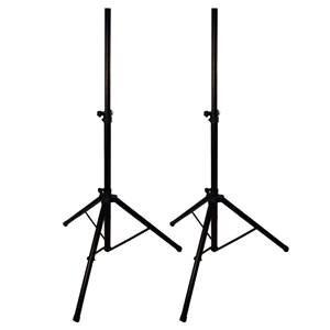 PA Speaker Stands x2 + Bag (Unbranded)