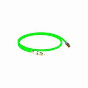 Klotz S/PDIF 1m Green Phono Lead