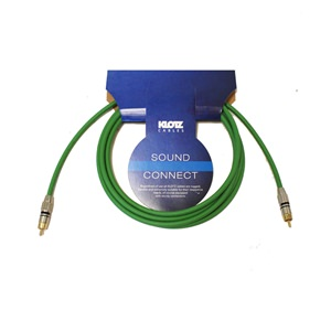 Klotz S/PDIF 3m Green Phono Lead