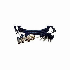 Klotz XLR Male to Jack 3m 8-Way Loom