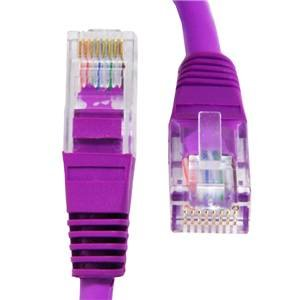 CAT 5e 1m Purple