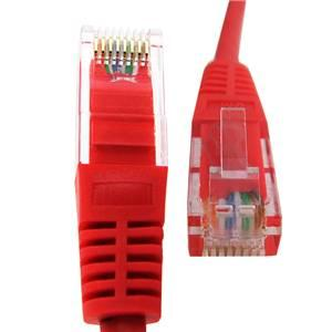 CAT 5e Patch Cord Lead 5m Red
