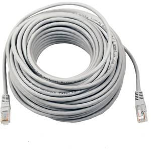 CAT 5e Patch Cord Lead 20m Grey