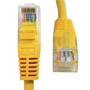 CAT 6 3m Yellow Patch Cord