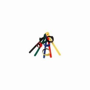 Hook & Loop Cable Ties (5-Colour Pack)