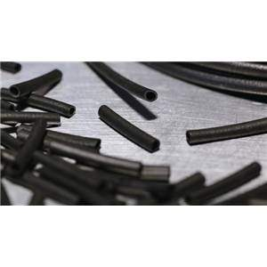 Hellerman Rubber Tubing 3mm x 20mm Black 1000-Pack