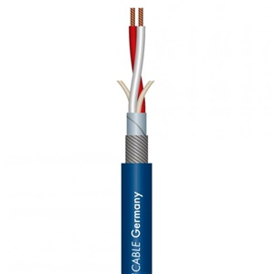 Sommer SC Source II Balanced Mic Cable Blue
