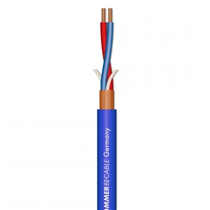 Sommer SC Club Series II Balanced Mic Cable Blue