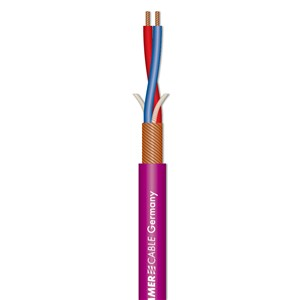 Sommer 200-0008 SC Stage 22 Balanced Mic Cable Violet