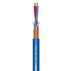 Sommer 200-0002 SC Stage 22 Balanced Mic Cable Blue