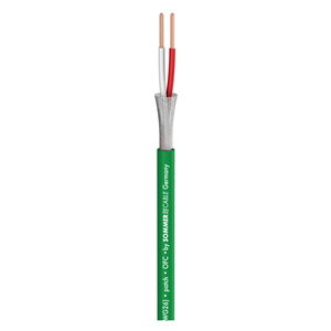Sommer Scuba Miniature Balanced Mic Cable Green