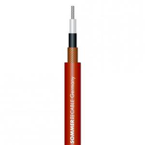 Sommer Tricone MkII Unbalanced Cable (Red)