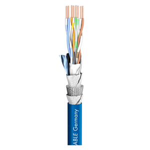 Sommer Mercator AWG26 Cat5 Cable Blue per Metre