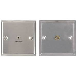 Wall Plate Mini Jack Socket 3.5mm