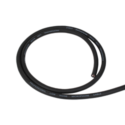 Europa Ultimate Black Mic Cable (per m)