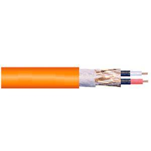 Europa Ultimate Orange Mic Cable per metre
