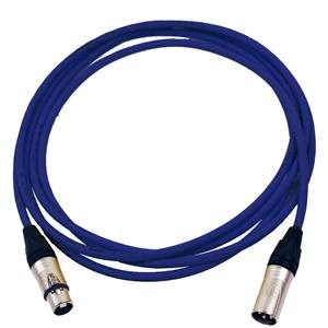 Pro Neutrik XLR Cable 5m Blue