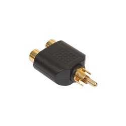 Mono Phono - 2x Mono Phono Socket Adaptor