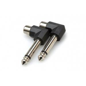 Hosa Phono Socket – Right-Angled Jack Adaptors