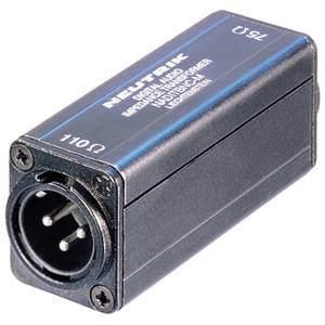 Neutrik BNC – AES/EBU Impedance Converter