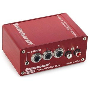 Switchcraft SC600 Dual Adaptor Box