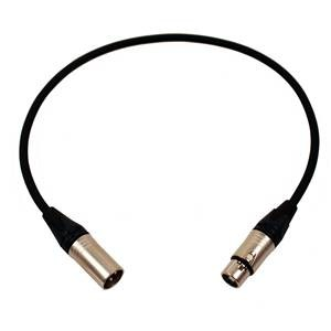 Pro Neutrik XLR Cable 60cm Black