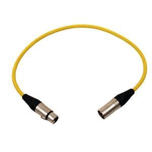 Pro Neutrik XLR Cable 60cm Yellow