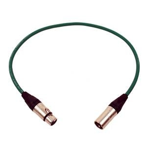 Pro Neutrik XLR Cable 60cm Green